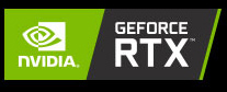 NVIDIA GEFORCE RTX badge