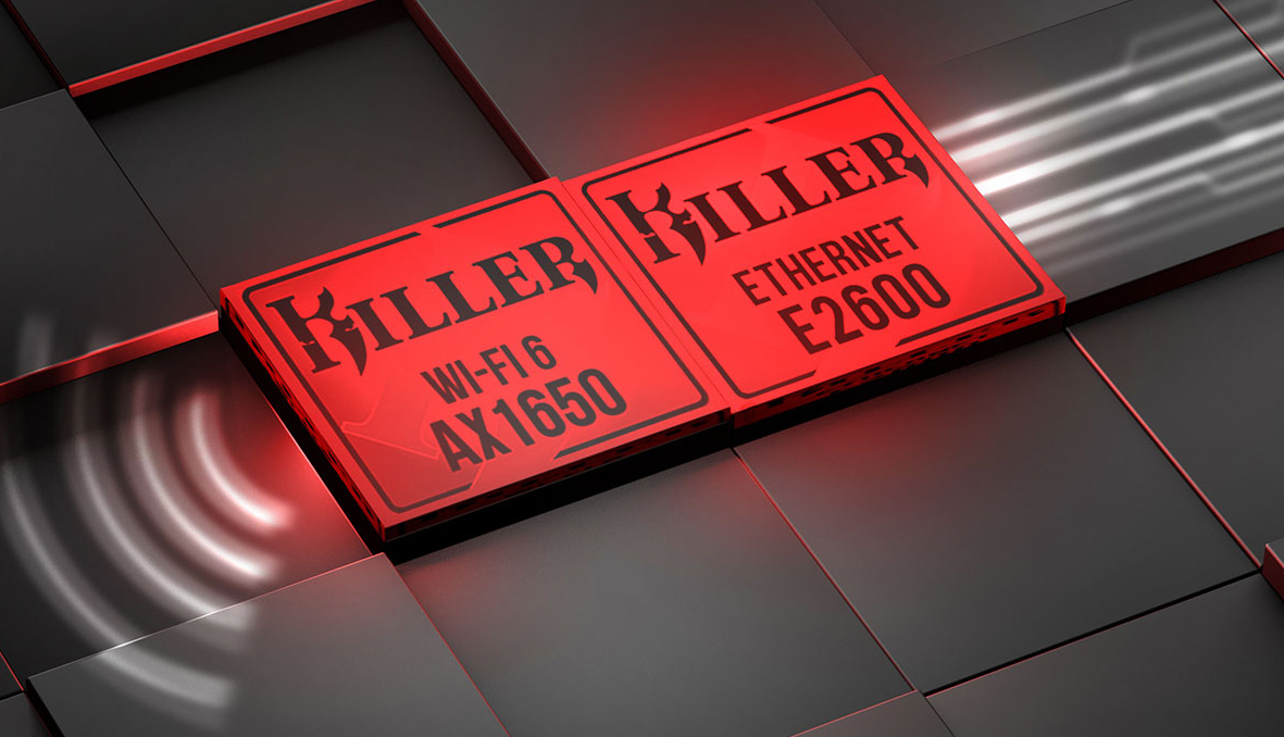 Killer WIFI6 AX1650 and Killer Ethernet E2600 chipset