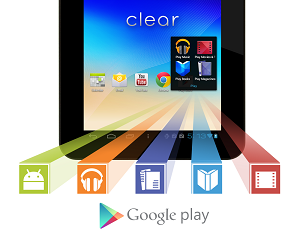 Wintec Filemate Clear T720 Tablet