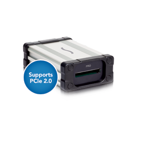Supports Ultimate Performance with PCIe 2.0 Interface for ExpressCard 2.0 Cards