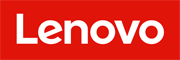 Red and White Lenovo Logo