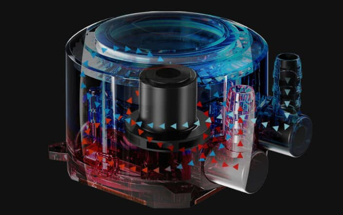 Cooler Master MasterLiquid's Dual Chamber