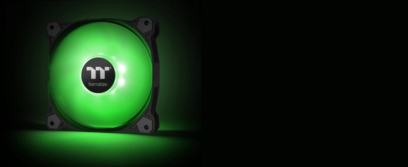 Pure A14 Radiator Fan (Single Pack) - Green