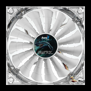 Shark Fan 14cm White Edition