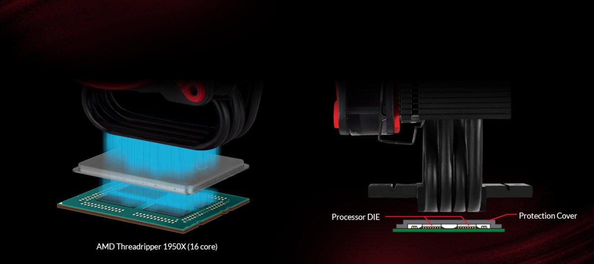 Arctic Freezer 33TR - Tower CPU Cooler for AMD Ryzen Threadripper sTR4 -RED  - Newegg com