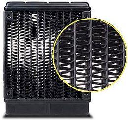 Premium soldered heatsink fin array