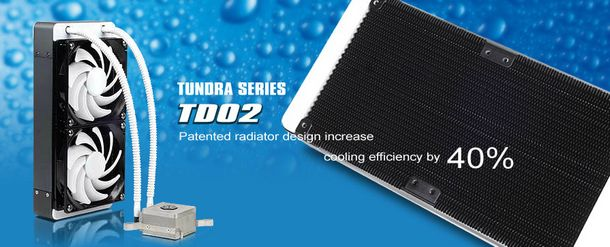 Unique brazing fins radiator