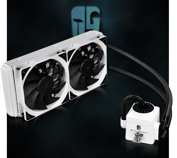Deepcool Gamer Storm Captain 240ex White Aio Cpu Liquid