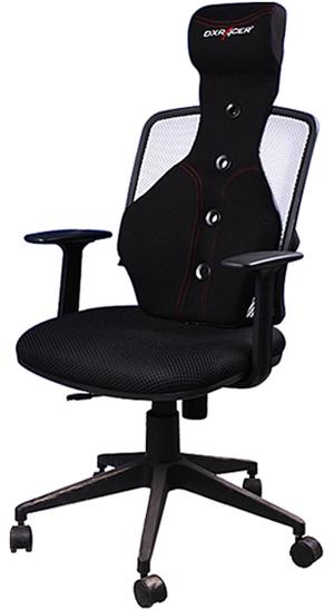 DXRacer SC/05/N Office Chair Black PU Ergonomic Headrest Cushion Gaming  Accessory