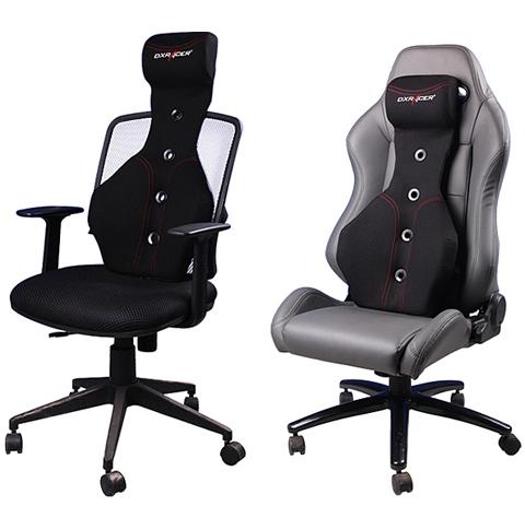 Dxracer Sc 05 N Office Chair Black Pu Ergonomic Headrest