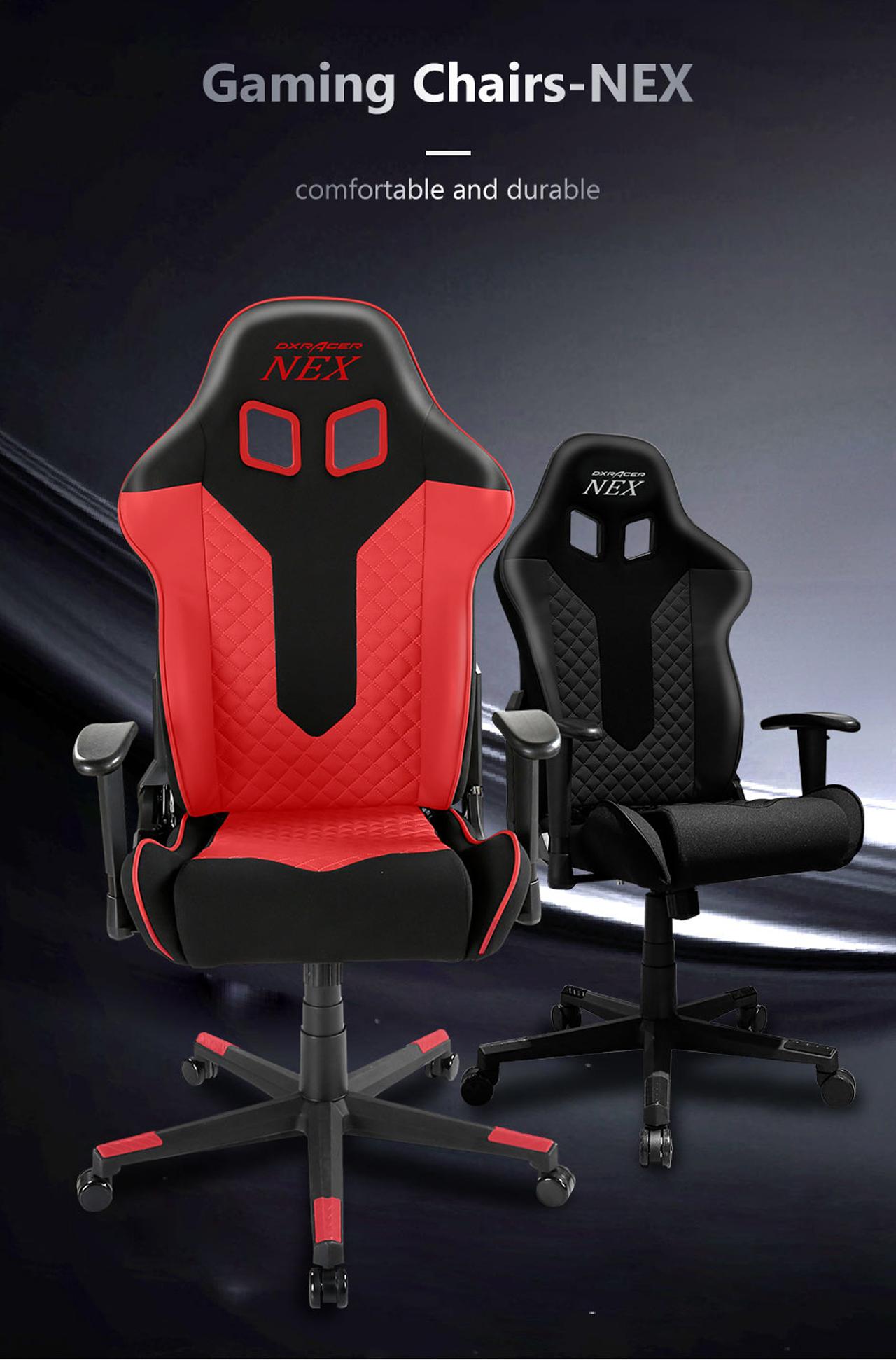 DXRacer NEX EC/OK01/NR Racing Bucket Seat Office Chair Gaming Chair  Ergonomic Computer Chair Esports Desk Chair Executive Chair Furniture -  Newegg com