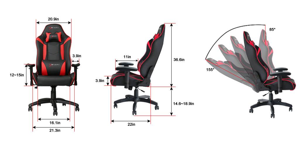 E Win Knight Series Kna Ergonomic Computer Gaming Chair