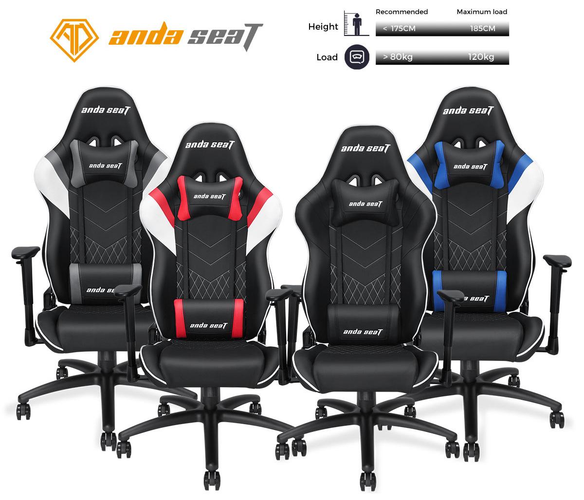 Anda Seat Assassin Series Gaming Chair Racing Bucket Office 175cm Black Plastic Handle Pcb Circuit Board Cleaning Anti Static
