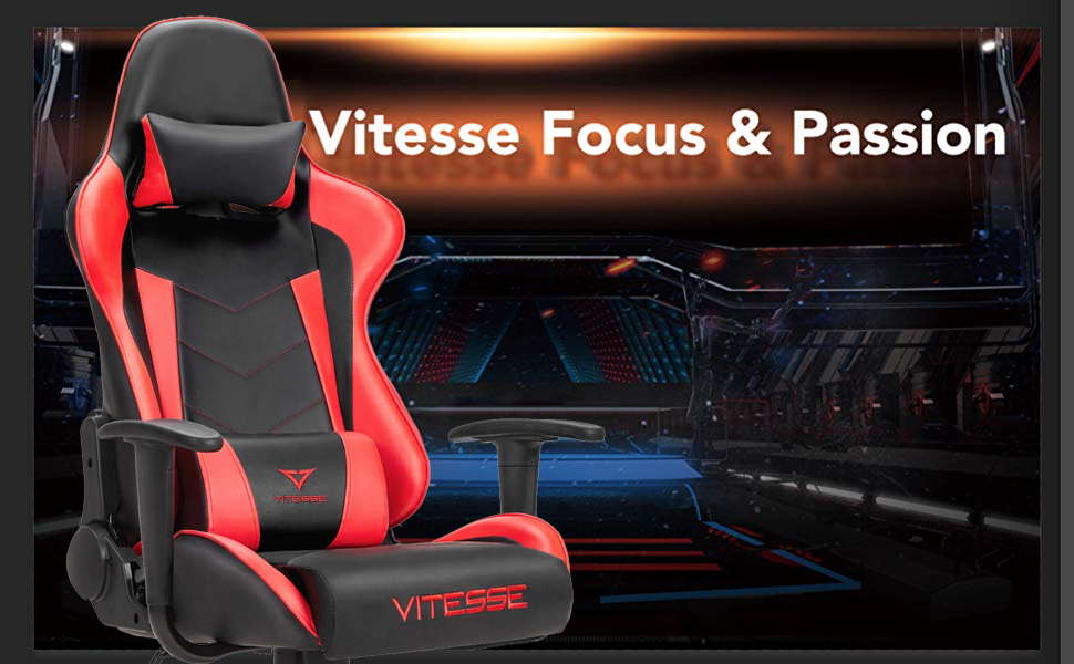 Vitesse Gaming Chair Racing Style High-back Computer Chairs