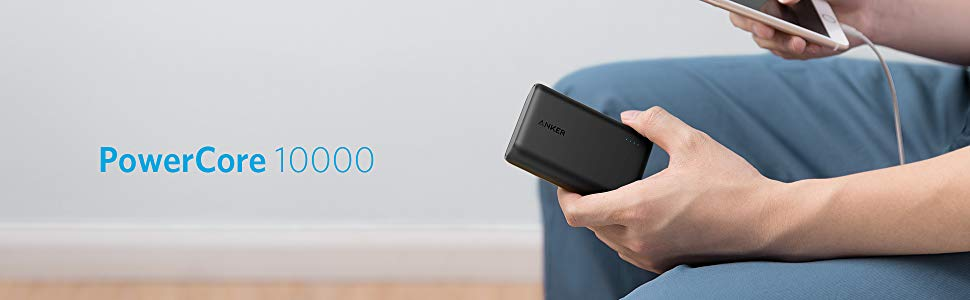 Anker PowerCore 10000 Portable Charger, One of the Smallest and Lightest  10000mAh External Battery, for iPhone, Samsung Galaxy and More - Newegg com