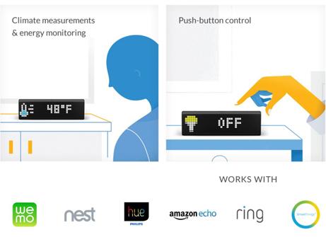 Lametric Time Wi Fi Clock For Smart Home Newegg Com