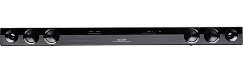 sharp sound bar. sharp 2.0 channel sound bar home theater system ht-sb20