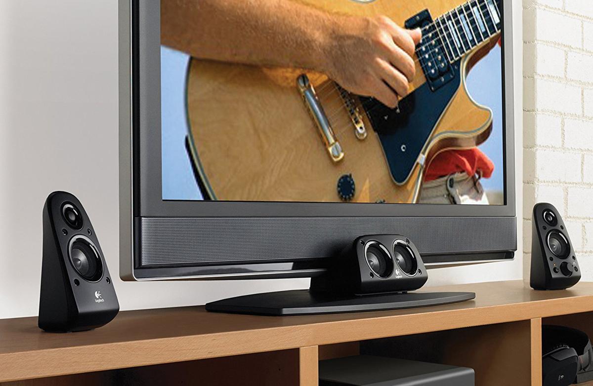 Logitech Z506 5 1 Surround Sound Speakers - Newegg com