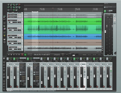 Free software (Reaper) for easy multitrack recording