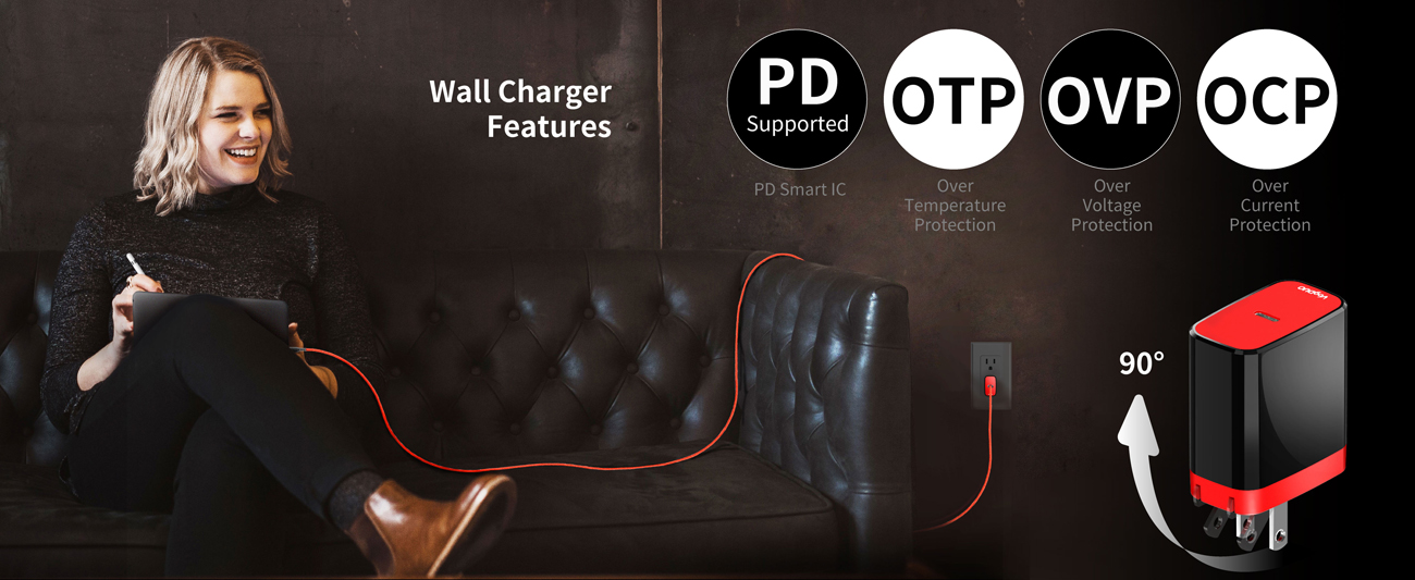 VogDUO PD Wall Charger Kit