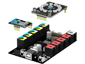 mBot Ranger est un kit robotique de formation STEM transformateur