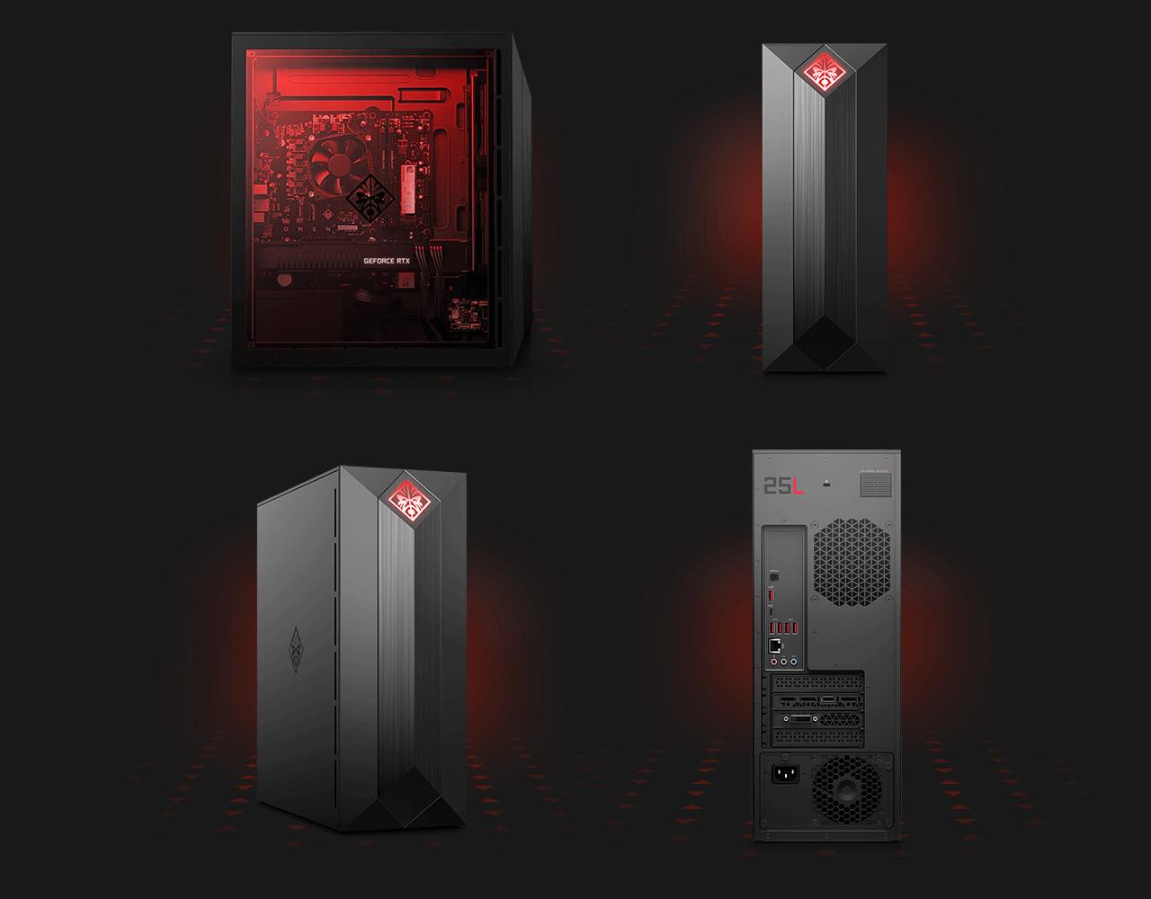 HP OMEN Obelisk 875-0069 Gaming Desktop Computer - Intel Core i3-8100 (3 60  GHz), NVIDIA GeForce GTX 1050 Ti 4 GB, 8 GB DDR4 Memory, 1 TB HDD, Windows