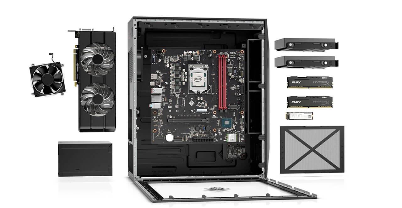 2019 Newest HP OMEN Obelisk Desktop|Intel Six-Core i7-8700|16G DDR4  Memory|1TB 7200 RPM HDD+256G SSD|NVIDIA GeForce GTX1060-3G|Bluetooth  4 2|Windows