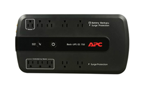 APC BE350G Back-UPS 350 VA 6-outlet Uninterruptible Power Supply (UPS) -  Newegg com