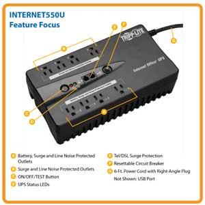 INTERNET550U Feature Focus