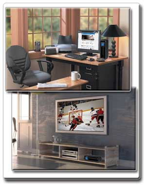 Ideal Protection for Home or Office PCs and A/V Components