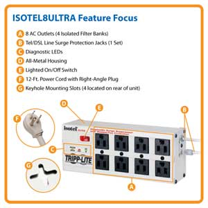 ISOTEL8ULTRA Feature Focus