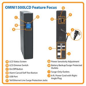 OMNI1500LCD-U Feature Focus