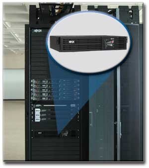 Ideal for Protection of Mission-Critical Rackmount Equipment