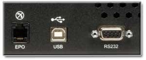 USB/DB9 Ports