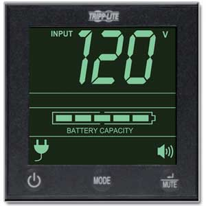 LCD Status Screen and Audible Alarm
