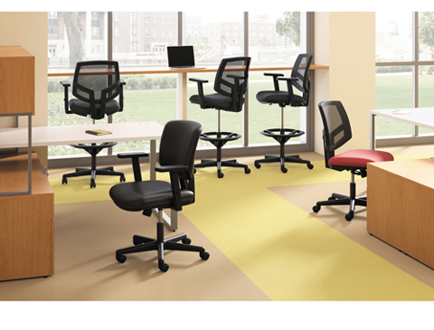 Hon 5701ga10t Volt 5701 Basic Swivel Task Chair