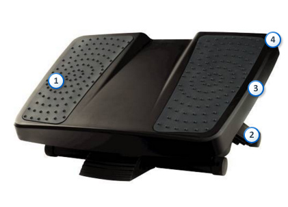 FELLOWES Ultimate Foot Support