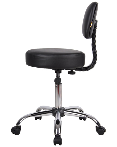 Boss Office Products B245 Bk Medical Stools Newegg Com
