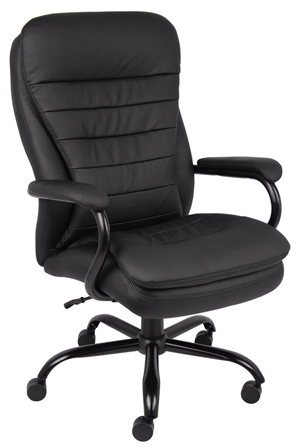 Nice Boss Office Products B991 CP Boss Heavy Duty Double Plush Caressoftplus  Chair   350 Lbs