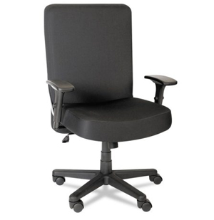 Alera Plus  XL Series Big & Tall High-Back Task Chair, Black