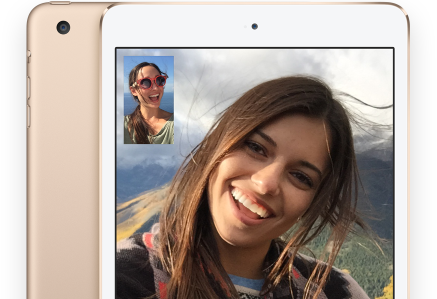 3_FaceTime HD and iSight cameras