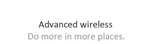 Title of advanced wireless