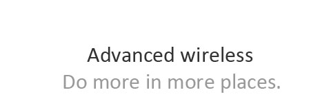Title of advanced wireless