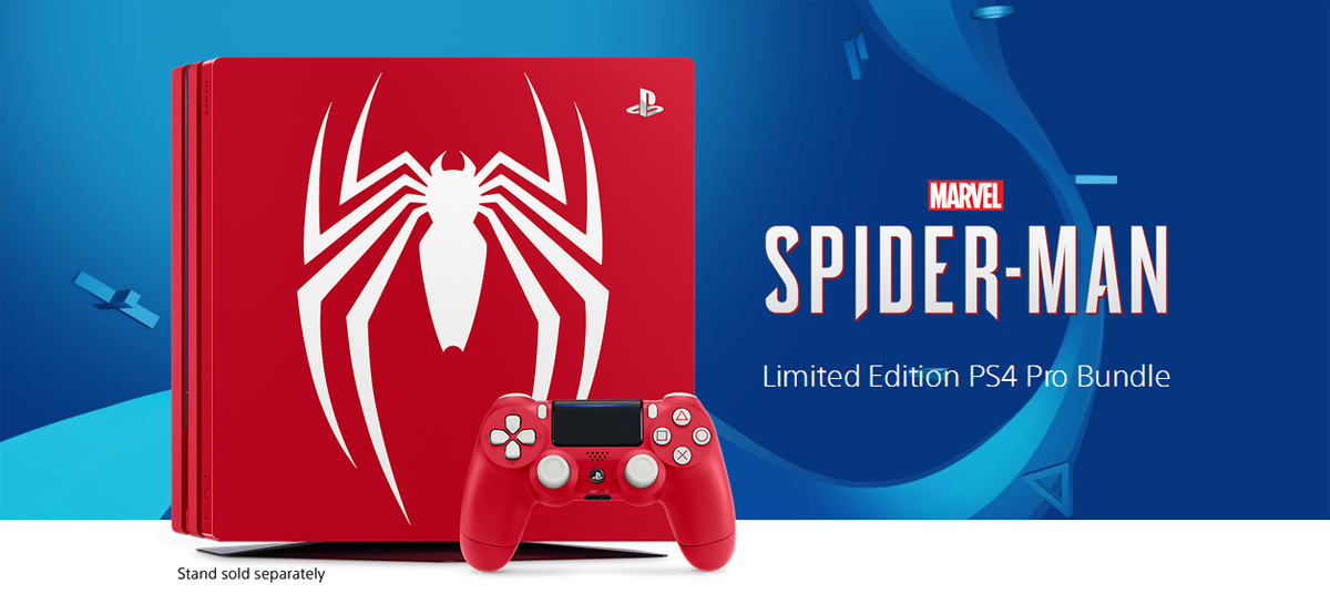 PlayStation 4 Pro 1TB Limited Edition - Marvel's Spider-Man Bundle -  Newegg com