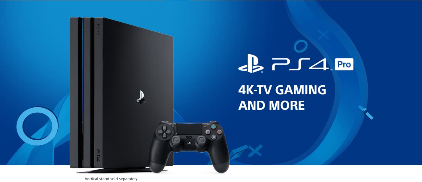 Sony Playstation 4 Pro 1tb Console Jet Black Newegg Com