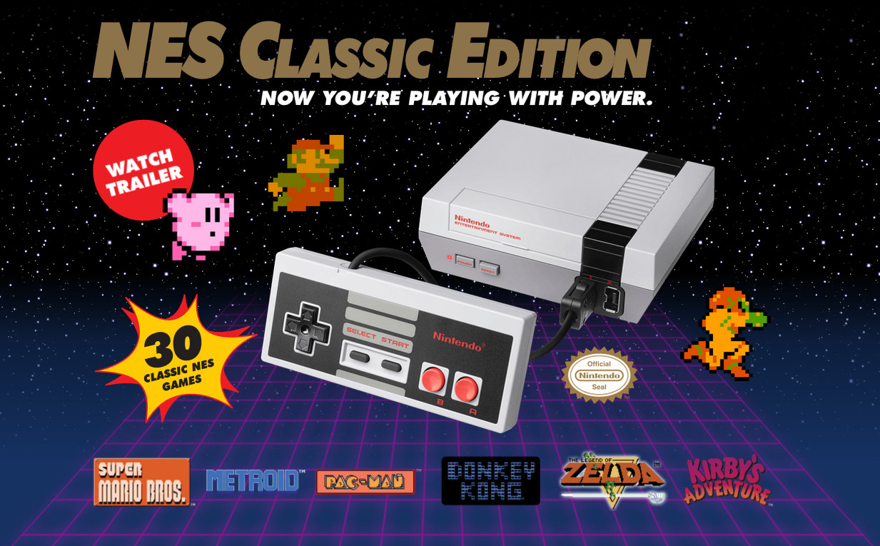 Nintendo Entertainment System: NES Classic Edition - Newegg ca