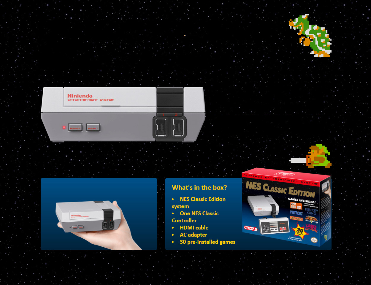 Nintendo Entertainment System: NES Classic Edition - Newegg ca