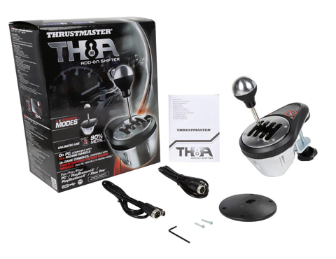 Thrustmaster VG TH8A Add-On Gearbox Shifter for PC, PS3, PS4 and Xbox One -  Newegg com