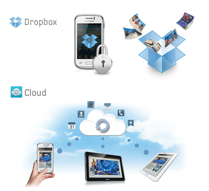Dropbox and S Cloud