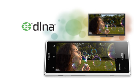 Share with DLNA